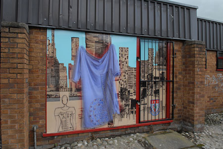 artwork on shop frontage