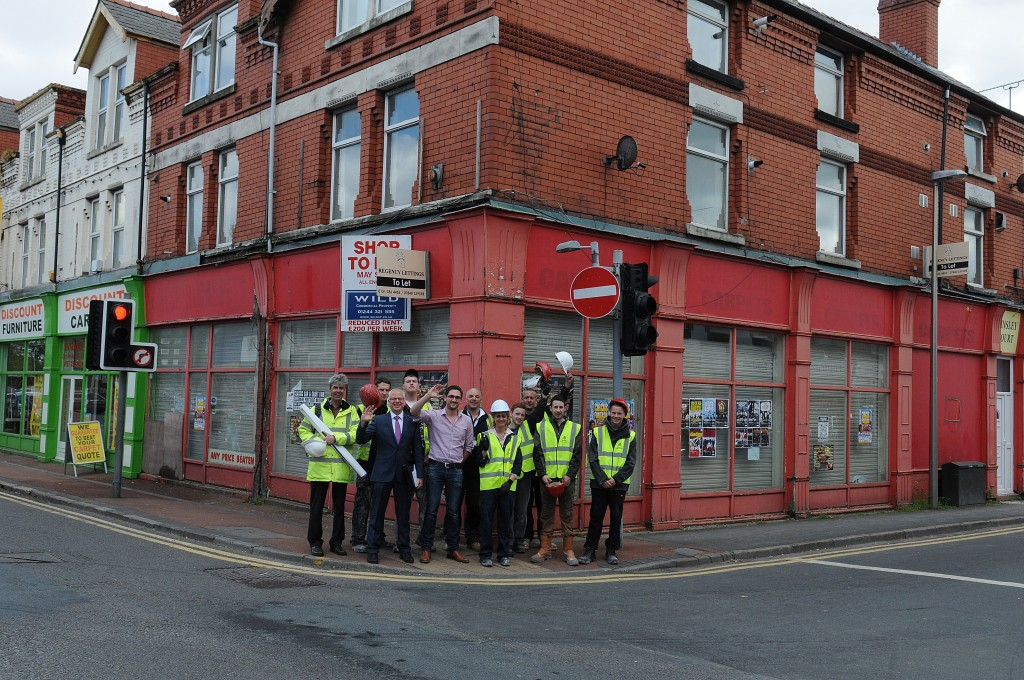 Improvement works begin on 23-25 Whitby Road before business incubator 'Seed' takes up residence on the High Street.