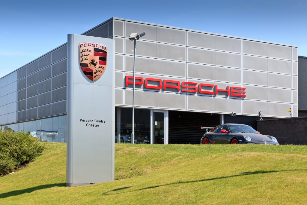 Ellesmere Port Porsche July 11